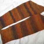 アフガン編みジャケット、袖のフチ編み完了しました