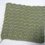 [リサイズ大作戦] ゲージが編みあがりました