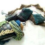 大地のバスケット編み帽、編みはじめました!