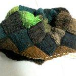 大地のバスケット編み帽途中経過(2)