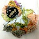 ガーデンフラワーのバスケット編み帽、はじめました!