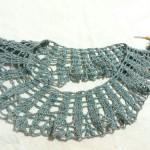 毛糸だま vol.165 のパイナップルレースのプルオーバーを編みはじめています