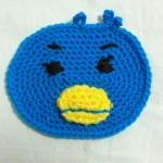『幸福の青い鳥男爵』、編んでみました~