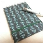 編み物デザインノートを新調しました。カキモリ・オーダーノートです!
