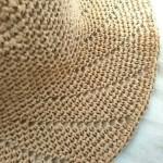 [完成] クラフトクラブで編む『麦わら帽子』完成しました!