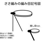 ささ編みの編み方講座(2)~平編み編~