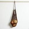 『ベジネットバッグ』を作っている過程で、『伸びにくいネット編み』を発見してしまった!