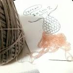 『乙女のための あめちゃん袋』作りますよ、アーンド、ビーズ編みでビーズを前に出す方法なんぞ解説する~