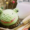 [新作] カエルのピンクッションを作りました♪カワイイとカワイソウの狭間で揺れるワタシ。