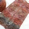 バックシャンプルオーバー(4):美しいネット編みの巻