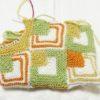 ドミノ編みでタブレットケースを作るよ!(4):まだまだ編んでいますっ!