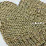 ミトンの編み方ポイント(2):親指位置の『別糸の編み込み方法』を解説してみた