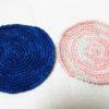 どちらの処理がお好み?藍染細糸で試作品編んでみた!