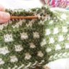 毛糸だま no.173 p17 の帽子:編んでほどいてまた編んで!