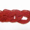 リングマフラー(3):リング部分完成!サイドを編み始めました