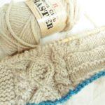 ハマナカ・メンズクラブマスターで編む『横編みのアランキャップ』制作開始っ!
