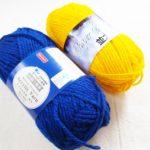 アクリルたわしを編むなら、断然ダイソーのアクリル毛糸をオススメしまっす!