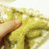 編み込み棒針編みガマグチ試行錯誤の考察(2)