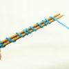 『つま先から編む靴下』その4:ターキッシュ・キャストオンの編み方