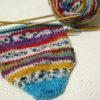 『つま先から編む靴下』その6:ワタシの靴下はいつ完成するの?を、予測する方法。