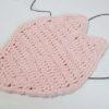 かぎ針編みで、オリジナル「桜の花びら型コースター」を自作してみた