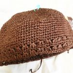 クラフトクラブで編む夏用帽子はクラウン完成。で、また糸を買ってしまった件。