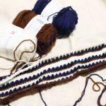 アフガン編みの帽子(4):ワタシに足りないのは集中力と×××だ