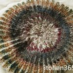 【完成】ブリオッシュ編みの新作帽子、試作品完成♪