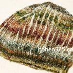 ブリオッシュ編みの帽子、編み図確定しましたよ