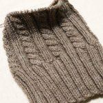 ダルマ手編み糸「フォークランドウール」で編むニット帽(2)&書籍『風工房の定番ニット』を購入しました