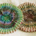 [通販部新着情報] ブリオッシュ編みのお帽子2点をUPしましたー