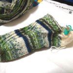 靴下編み・トゥアップくつ下(4):今度こそ履ける靴下であってくれよー