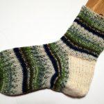 [片方完成]靴下編み・トゥアップくつ下(6):なるほど!なるほど!