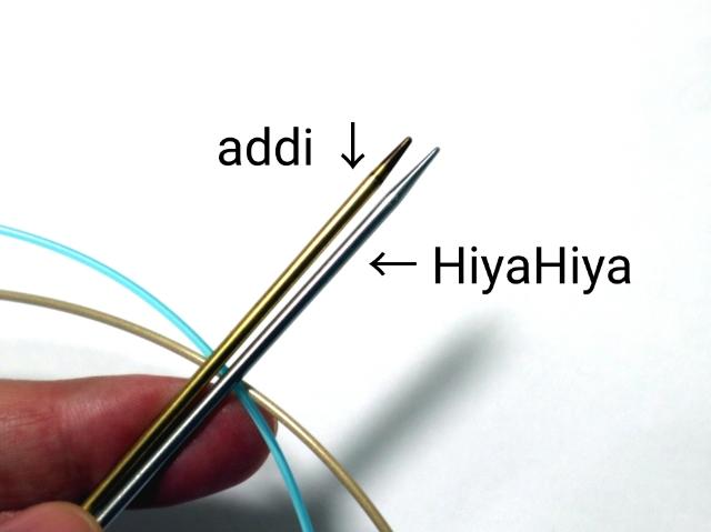 輪針、addiとHiyaHiya(ヒヤヒヤ)