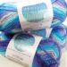 ダイソーの毛糸『グラデーションウール』がなかなか良い発色です